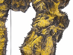 《金石为开》综合材料画