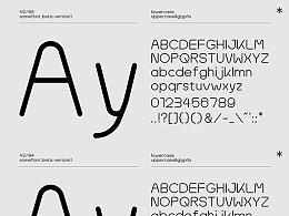 SomeFont西文字体设计 | 免费下载