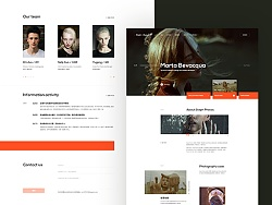 Photography studio theme