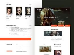 Photography studio theme