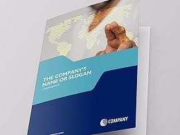 教育产品折页 商务折页 科技折页 企业折页 金融折页
