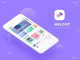 Melody Music App 概念设计