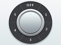 PS打造独特旋转按钮