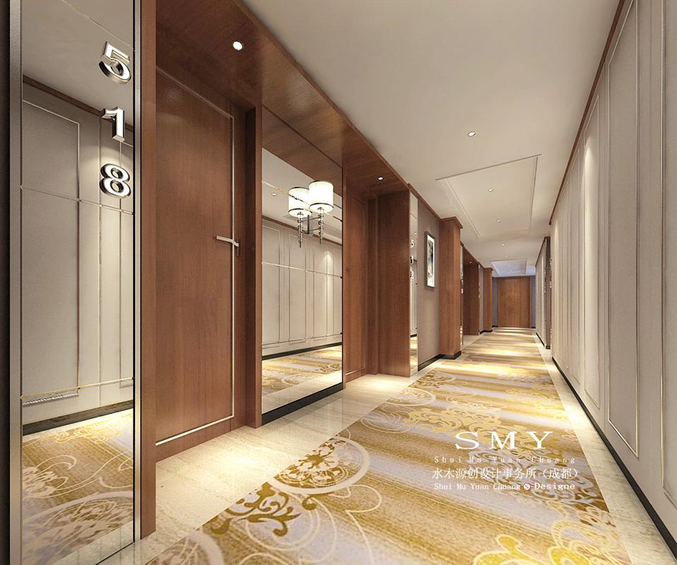 泸州商务酒店设计—半岛酒店(smy设计)