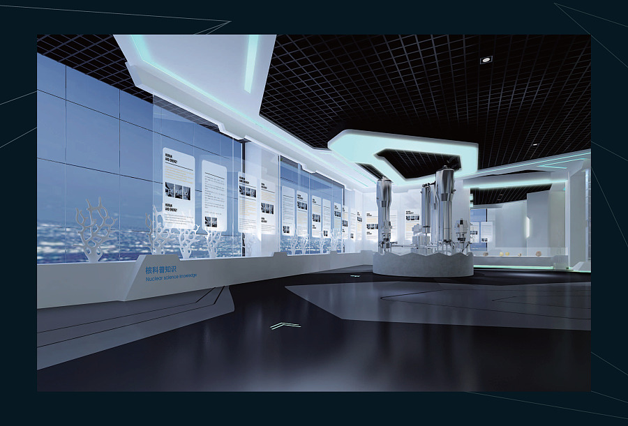 宁德核电站展示中心 宁德核电展馆 宁德核电科技馆 布展设计方案 展厅