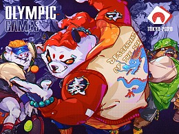 【OLYMPIC 2020 series illustrations 】