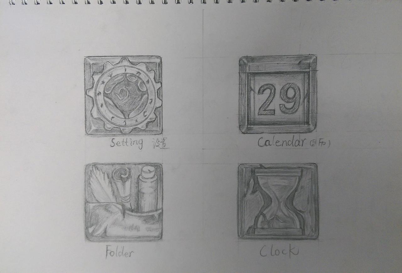 手绘作品整理