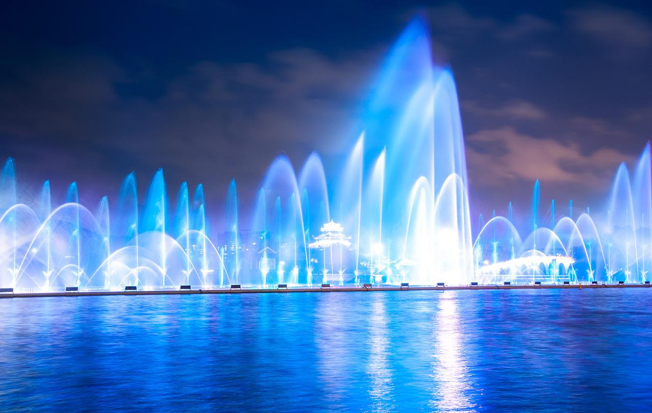喷泉俯视图简笔画