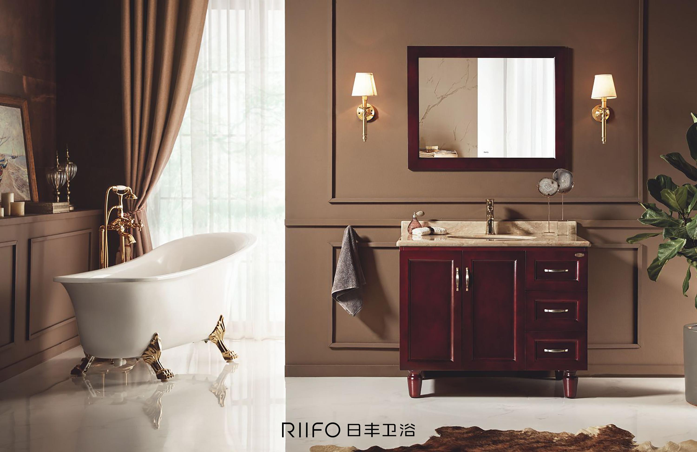 日丰浴室柜产品海报