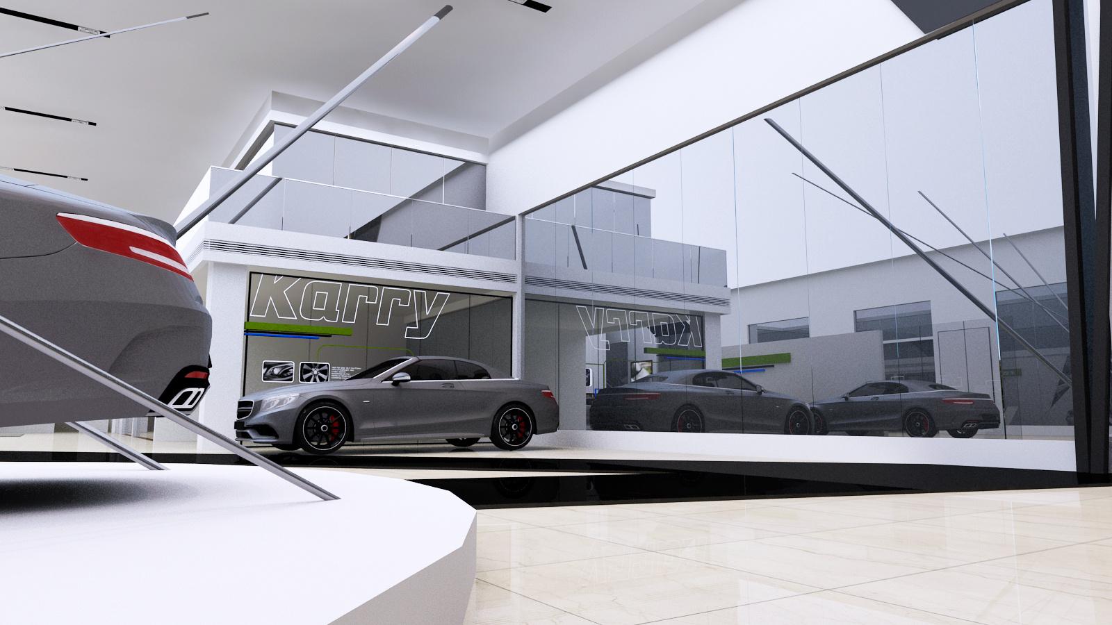 开瑞汽车展厅设计