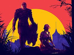 游戏海报同人第三期(巫师3)