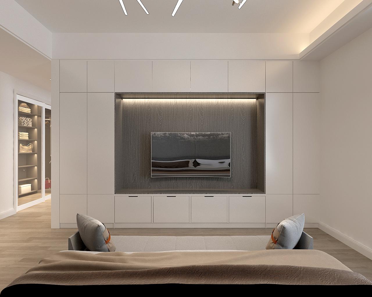 现代高级灰 / 住宅空间设计 空间 室内设计 六品空间