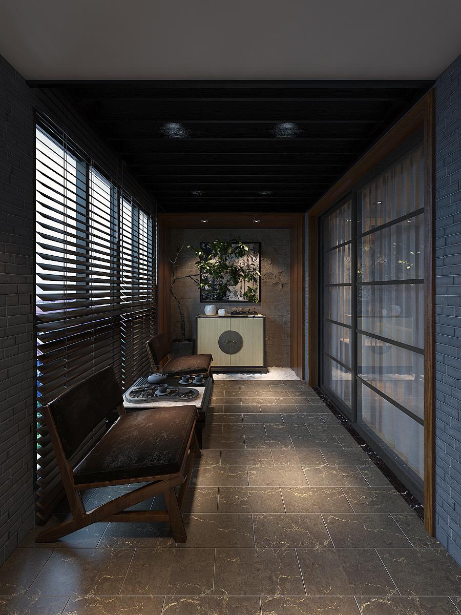 CH翡翠湾-后现代|室内设计|风格/建筑|B_tadpo日式室内设计空间的定义图片