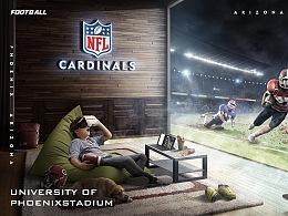 【NFL橄不同】创意合成海报