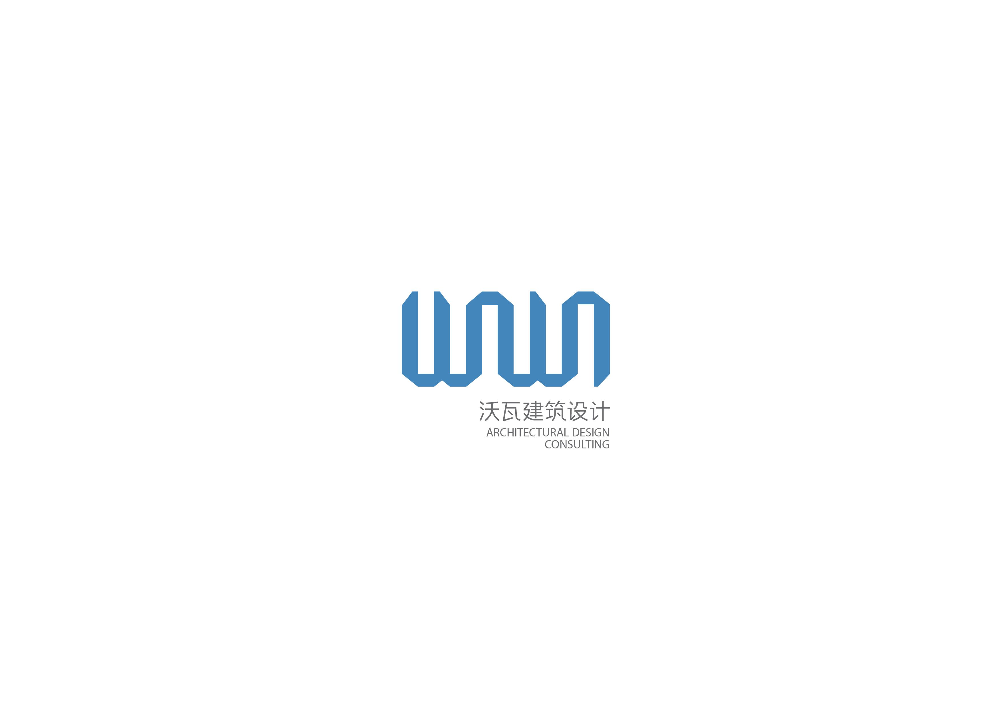 wowa建筑设计稿标志设计犬舍图片
