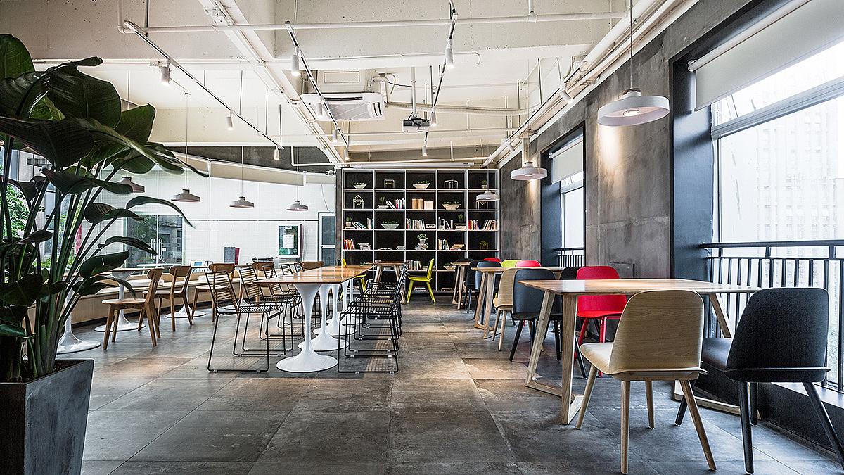 复合型餐饮 · 餐饮空间设计_合子咖啡 卓越店