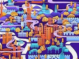 Go & Discover Illustration 城市发现之旅 南京