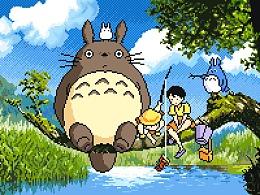 像素画-最爱宫崎骏系列