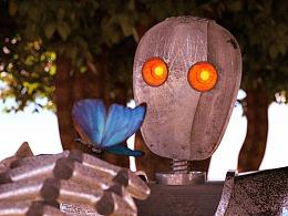C4D制作CG小短片《机器人》