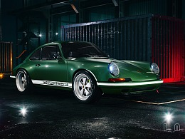Singer 911 UE4 CG汽车摄影