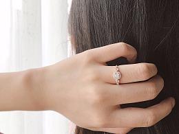 梵尼洛芙珠宝 | 婚戒「星光」