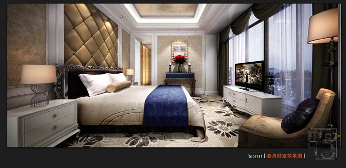 法式酒店酒店--德阳酒店v酒店 德阳主题装修 室内室内设计师全装图片