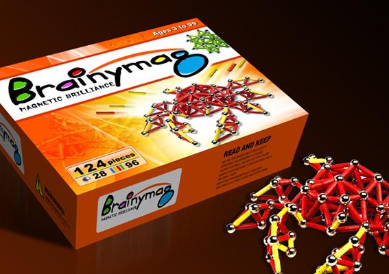 上海磁力玩具包装设计