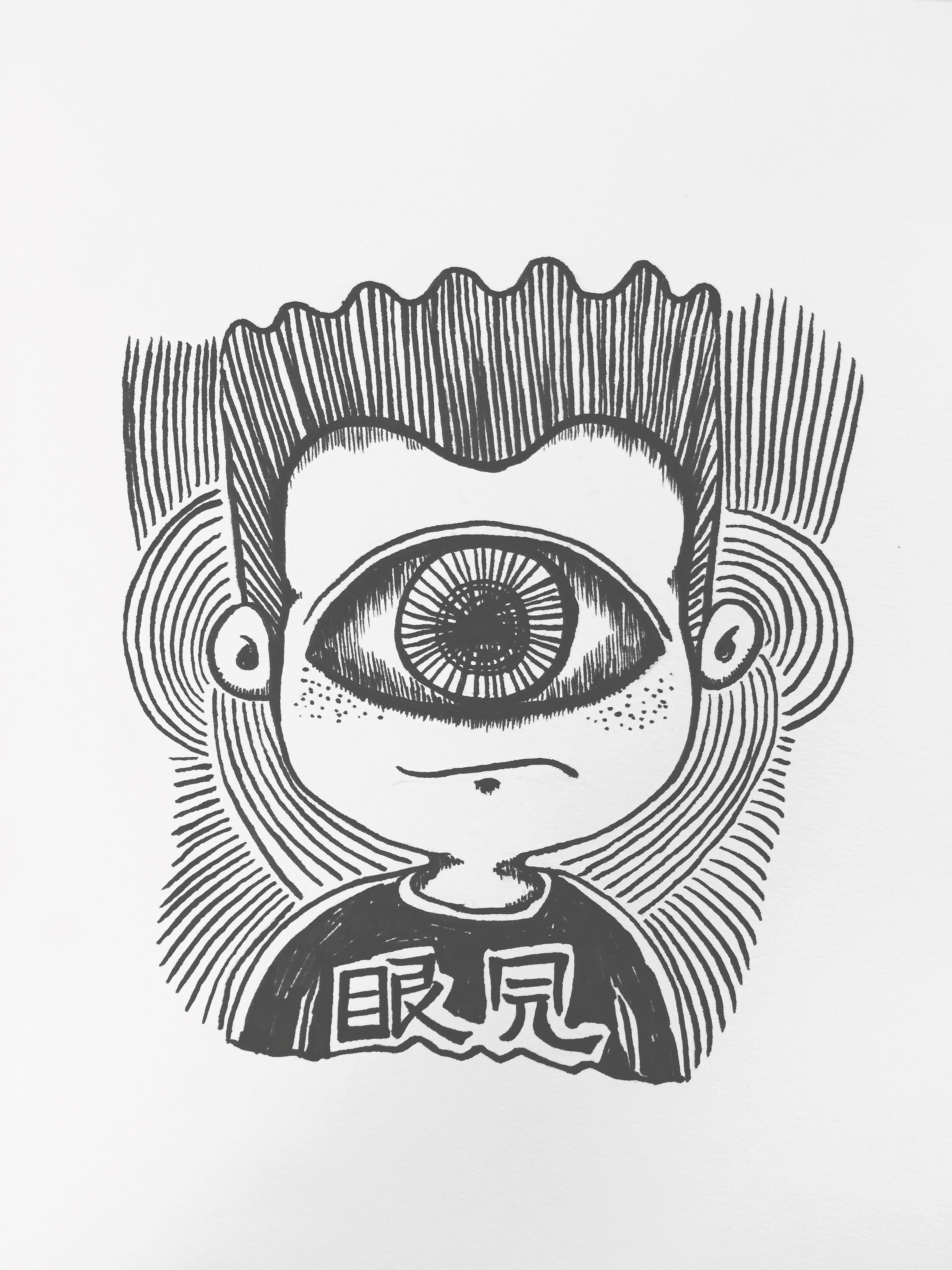 眼口鼻耳图片