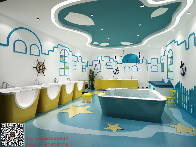 专业致力于西宁儿童游泳馆室内效果设计-西宁专业婴幼儿游泳馆设计图片