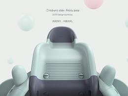 哈士奇设计作品 - 儿童滑滑梯3