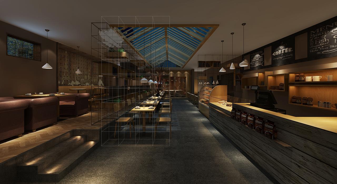 室内效果图 餐厅效果图|三维|场景|室内效果图 - 原创