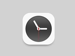 模仿锤子手机时钟icon