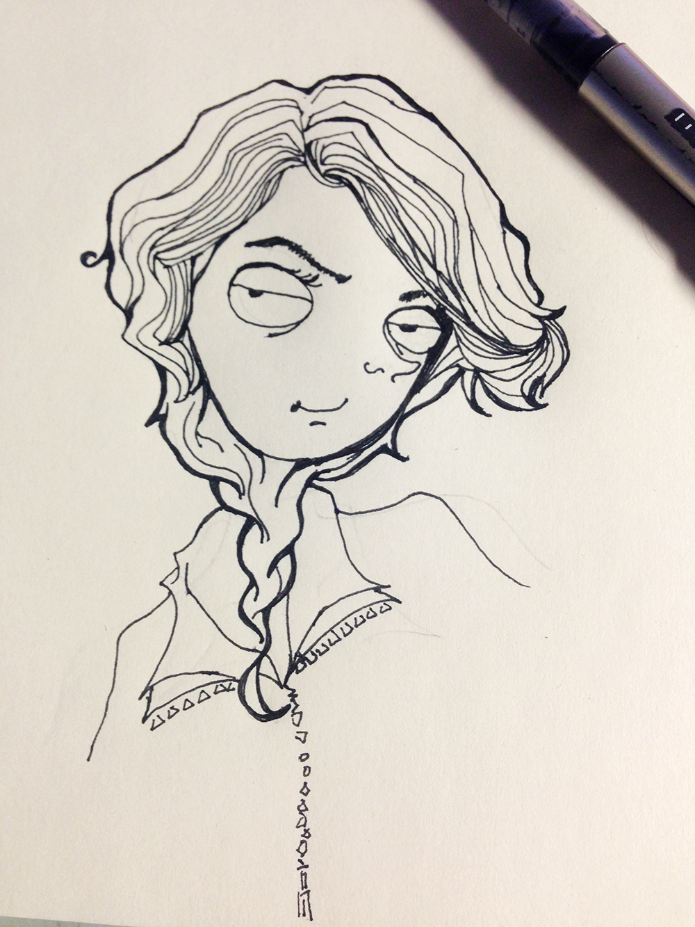 老师简笔画简单又漂亮