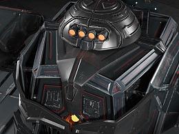 陆地机甲设计 Tank-Robot
