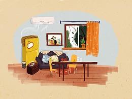 #他和空调的故事# 总有一台空调陪伴你度过漫长岁月