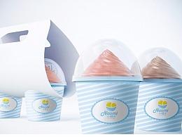 小糯米冰饭品牌设计