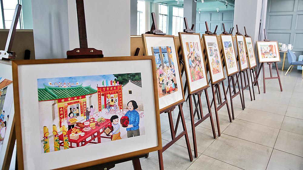 《印记潮汕——跳叫板插画作品展》