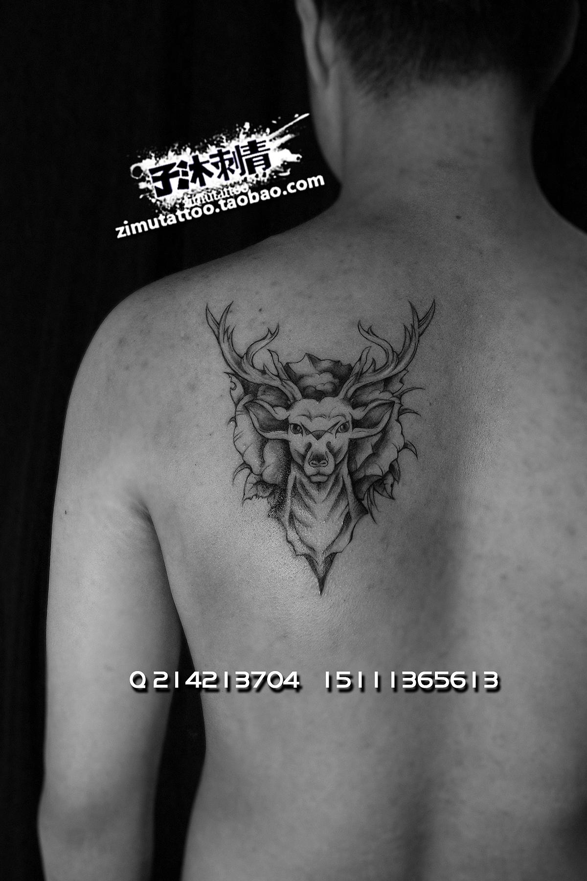 id夜雨龙门 子沐刺青 纹身设计 无限画工厂 428600130611387 纹身设计