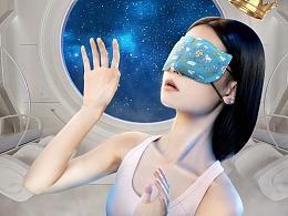 小王子ip款口罩详情页设计