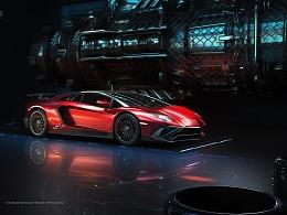 Lamborghini 兰博基尼 汽车渲染