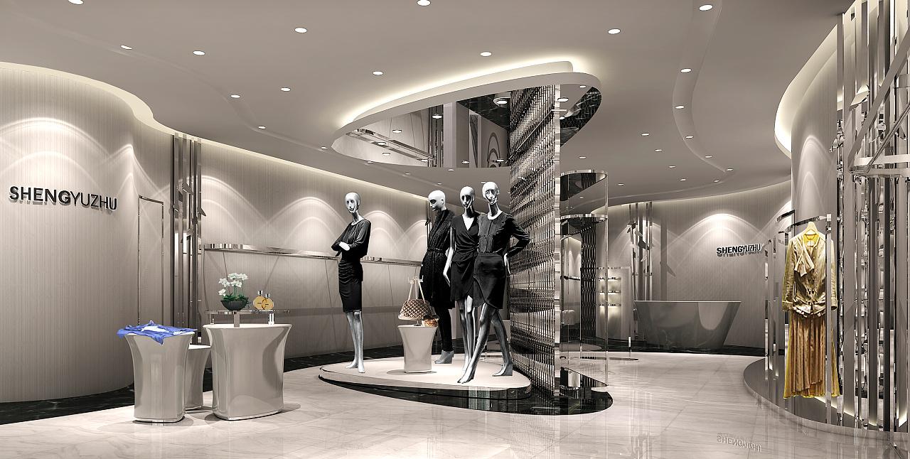 英玛设计作品-声雨竹个性店创意|空间|展示设计 |官