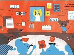 童插绘本-猫和老鼠