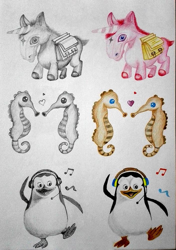手绘图标|ui|图标|海豚小子 - 原创作品 - 站酷