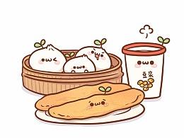 【表情×长草颜团子】早餐的诱惑