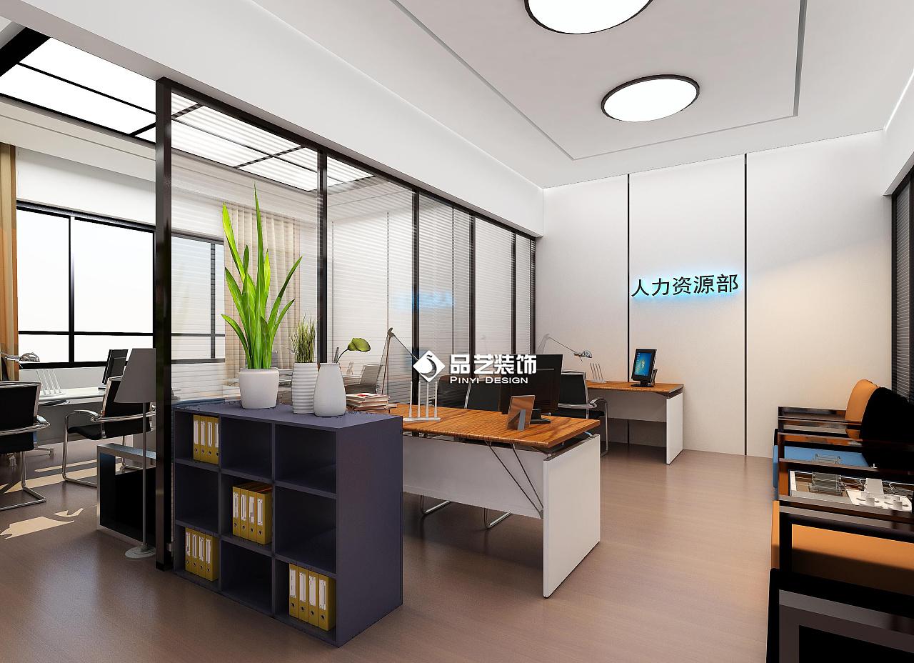 创客地产简约写字楼办公室装修设计|空间|室内设计|品空间对v地产的管控图片