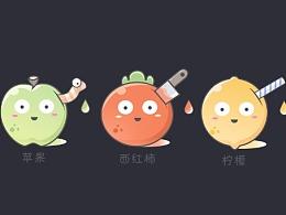 自己平时喜欢的3种水果
