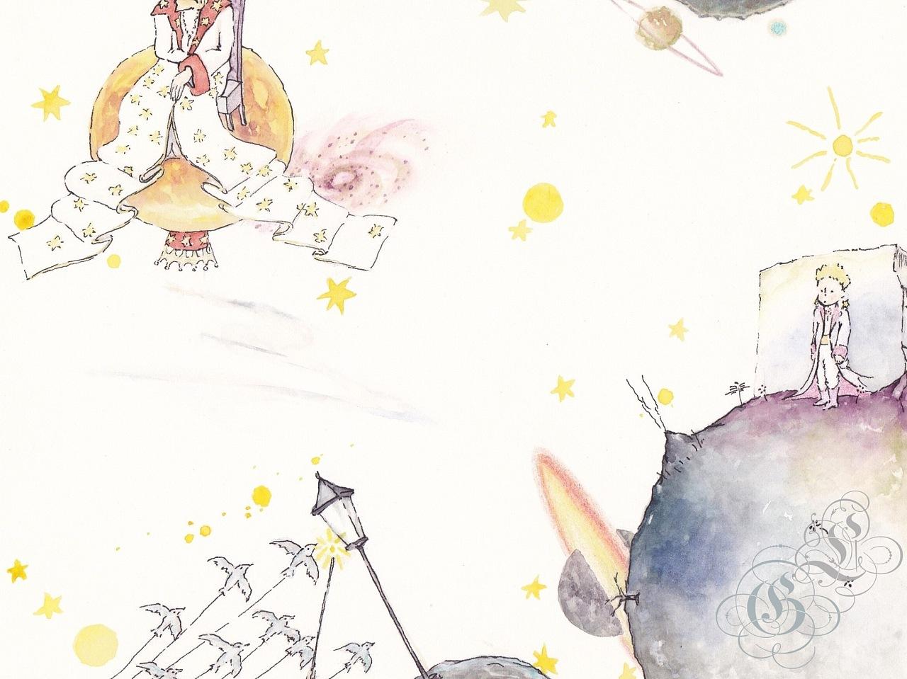 婚礼纸本水彩手绘|空间|舞台美术|西兮辫子ganymede