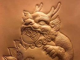神兽貔貅皮塑