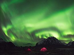 极光飞舞 - 格陵兰岛