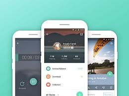 鱼说 2.0 | Android Material Style